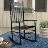 Andover Mills Fordyce Rocking Chair Frame Color: Black