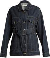 Golden Goose Deluxe Brand Viola waist-belt denim jacket