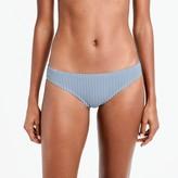 J.Crew Seersucker bikini bottom