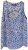 Ungaro Blue Silk Top for Women Vintage