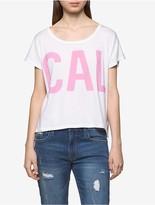 Calvin Klein Tissue Jersey Logo Summer T-Shirt
