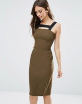 Love Midi Dress With Contrast Straps