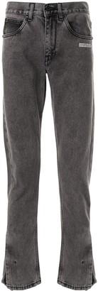 Off-White Straight-Leg Jeans