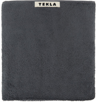 Tekla Grey Organic Bath Towel