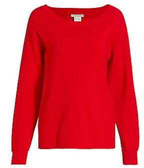 Alice + Olivia Women's Ruela Split-Back Sweater