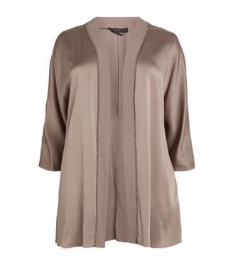 Marina Rinaldi Embellished Satin Jacket