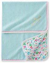 Kate Spade Wildflower & Striped Blanket