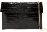 Urban Expressions Hugo Convertible Faux Leather Clutch
