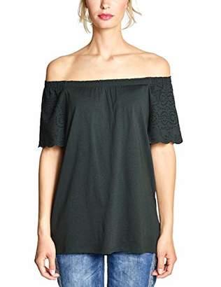 Street One Women's 3135 T-Shirt, Vivid Red 11737, 20 (Size: )