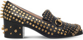 Gucci Polly studded leather loafers