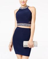 B. Darlin Juniors' 2-Pc. Embellished Bodycon Dress