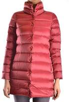 Geospirit Women's Red Polyamide Down Jacket.