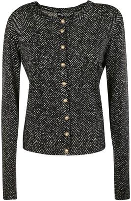 Dolce & Gabbana Tweed Button Jacket
