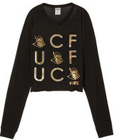 PINK University Of Central Florida Long Sleeve Campus Cutout Tee