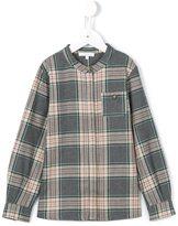 Chloé Kids - checked blouse - kids - Cotton - 6 yrs