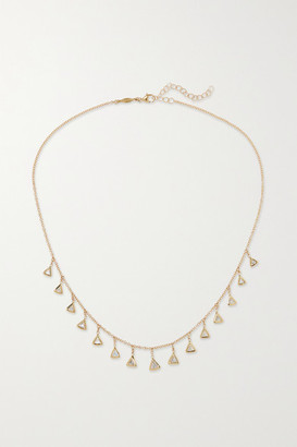 Jacquie Aiche 14-karat Gold Diamond Necklace - one size