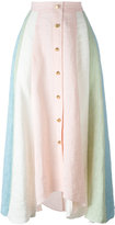 Peter Pilotto rainbow striped skirt