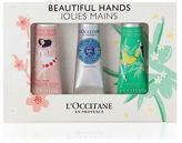 L Occitane Beautiful Hands Three-Piece Set