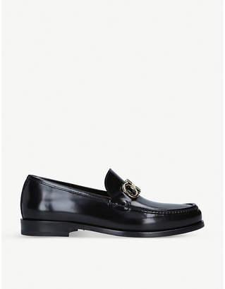Salvatore Ferragamo Rollo Gancho leather loafers