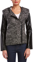 Twelfth Street By Cynthia Vincent Contrast Sleeve Jacket