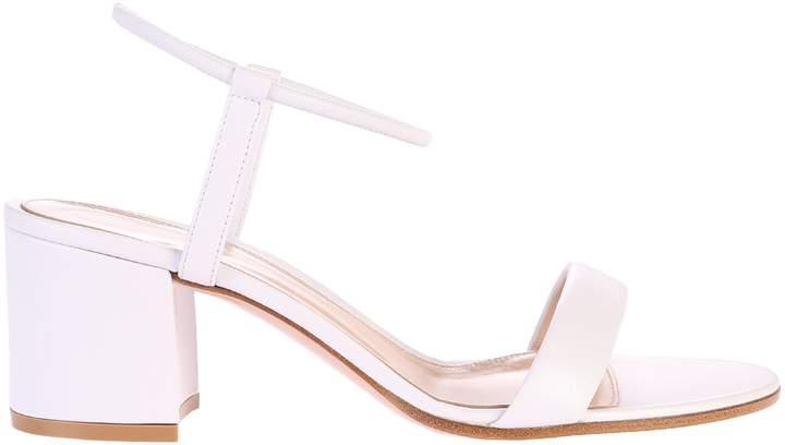 Gianvito Rossi White Sandals