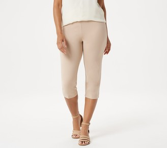 Linea By Louis Dell'olio by Louis Dell'Olio Ponte Knit Pull-On Capri Pants