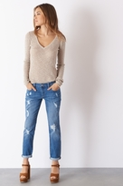 Dynamite Cara Relaxed Skinny Jeans In Perfectly Faded