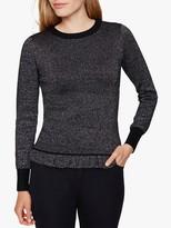 Damsel in a Dress Myla Knit Jumper, Black/Silver