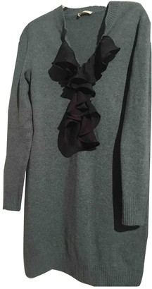 Chloé Navy Wool Dresses