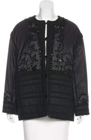 Valentino Embellished Structured Jacket