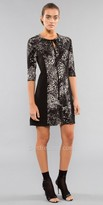 Julian Chang Regina Neck Tie Tunic