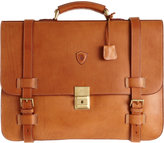 Felisi Two-Gusset Briefcase