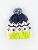 Boden Fair Isle Knitted Hat