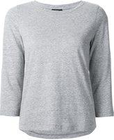 A.P.C. three-quarter sleeved jersey top