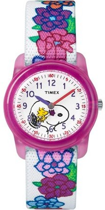 Timex Time Machines Peanuts Collection Girls Watch TW2R41700