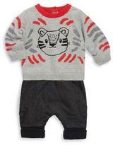 Catimini Boy's Two-Piece Cotton Sweatshirt and Pants