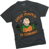 "Peanuts Linus - ""The Great Pumpkin Is Coming!"" Adult T-Shirt"
