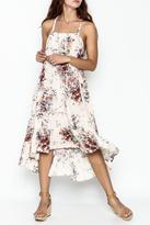 Love Stitch Floral Racerback Dress