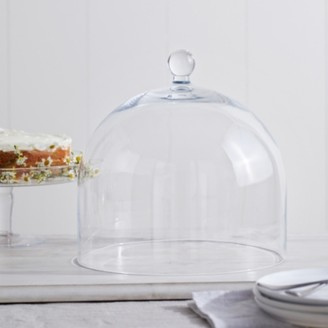The White Company Glass Cloche , Clear, One Size