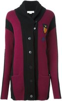 Stella McCartney patch detail rugby cardigan