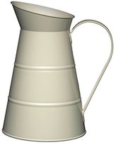 Kitchen Craft Living Nostalgia Large Metal Jug, 2.3 L (4 Pints) - Antique Cream