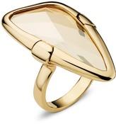 Swarovski Chandelier Ring, Gold Plating