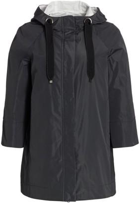 Brunello Cucinelli Techno Drawstring Water Resistant Jacket