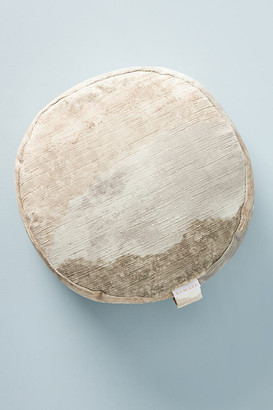 SAMAYA Luna Round Meditation Cushion By SAMAYA in Beige
