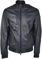 Armani Collezioni Blouson Leather Jacket