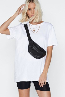 Nasty Gal Womens Stay on Track Tee and Biker Shorts Set - Black & White - 12