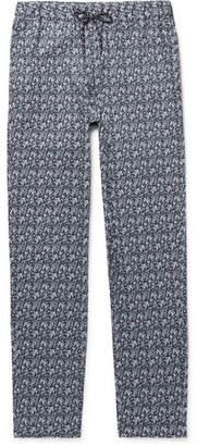 A.P.C. Kaplan Bandana-Print Cotton Drawstring Trousers