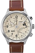 Timex Men's T2N932 Leather Analog Quartz Watch