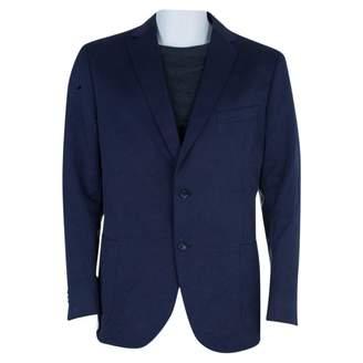 Ermenegildo Zegna Navy Cotton Jackets