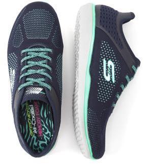 Penningtons Skechers Wide-Width Lace Up Sneakers